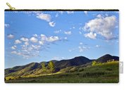 When Clouds Meet Mountains Carry-all Pouch by Angelina Vick
