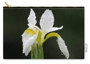 White Iris Carry-all Pouch by Juergen Roth
