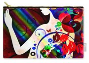 Wonder At The End Of The Rainbow Carry-all Pouch by Angelina Vick