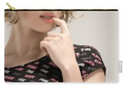 Blond Lady Carry-all Pouch by Ralf Kaiser