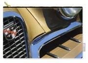 1957 Studebaker Golden Hawk Hardtop Grille Emblem Carry-all Pouch by Jill Reger