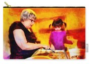 Baking Cookies With Grandma Carry-all Pouch by Nikki Marie Smith