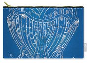 Corset Patent Series 1905 French Carry-all Pouch by Nikki Marie Smith