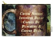 Gritty Chuck Norris 2 Carry-all Pouch by Angelina Vick