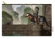 Guards Of The Forgotten Gate Carry-all Pouch by Daniel Eskridge