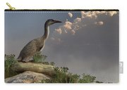 Hesperornis By The Sea Carry-all Pouch by Daniel Eskridge