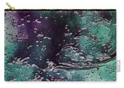 Textures Of The Heart Carry-all Pouch by Linda Sannuti