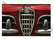 Alfa Red Carry-all Pouch by Douglas Pittman