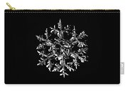 Snowflake Vector - Gardener's Dream Black Version Carry-all Pouch by Alexey Kljatov