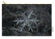 Snowflake 2 Of 19 March 2013 Carry-all Pouch by Alexey Kljatov