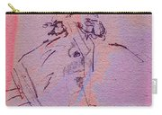 Faces Of Trivia Carry-all Pouch by Steve Karol
