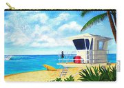 Hawaii North Shore Banzai Pipeline Carry-all Pouch by Jerome Stumphauzer