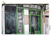 Old Tavern-madrid Carry-all Pouch by Tomas Castano