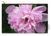 Peony Perfection Carry-all Pouch by Angelina Vick