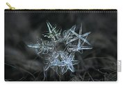 Snowflake Of 19 March 2013 Carry-all Pouch by Alexey Kljatov