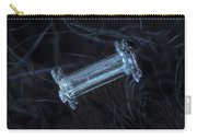 Snowflake Photo - Capped Column Carry-all Pouch by Alexey Kljatov