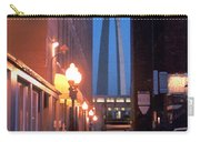 St. Louis Arch Carry-all Pouch by Steve Karol