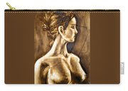 Woman Carry-all Pouch by Thomas Valentine