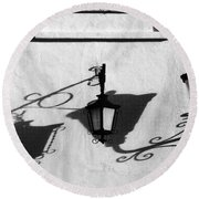 Undercover Round Beach Towel by Skip Hunt