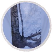 Hedden Park II Round Beach Towel by Leah  Tomaino