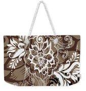 Coffee Flowers 10 Weekender Tote Bag by Angelina Vick