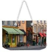 Arch Of Flowers In Old Quebec City Weekender Tote Bag by Juergen Roth