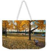 Autumn In Calgary Weekender Tote Bag by Trever Miller