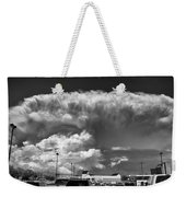 Boiling Sky Weekender Tote Bag by Trever Miller