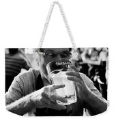 Drink Up Weekender Tote Bag by Trever Miller