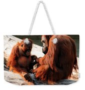 Family Time Weekender Tote Bag by Trever Miller