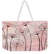 Field Of Flowers Within 3 Weekender Tote Bag by Angelina Vick