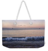 First Light On Ma'alaea Bay Weekender Tote Bag by Trever Miller