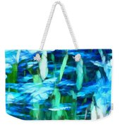 Float 2 Horizontal Weekender Tote Bag by Angelina Vick