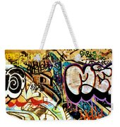 Girls Tag Two Weekender Tote Bag by Trever Miller