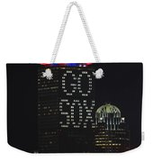Go Boston Red Sox Weekender Tote Bag by Juergen Roth