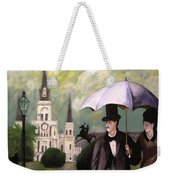 Jackson Square Weekender Tote Bag by Rob Peters