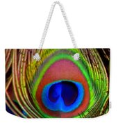 Just One Tail Feather Weekender Tote Bag by Angelina Vick