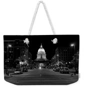 Madison Wi Capitol Dome Weekender Tote Bag by Trever Miller
