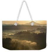 Morning Has Broken Weekender Tote Bag by Lori Grimmett