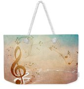 Please Dont Stop The Music Weekender Tote Bag by Angelina Vick