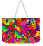 Rainbow Bliss 2 - Twisted - Painterly H Weekender Tote Bag by Andee Design