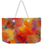 Rainbow Passion - Abstract - Digital Painting Weekender Tote Bag by Andee Design