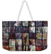 Squared Up 1 Weekender Tote Bag by Angelina Vick