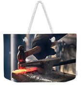 Strike While The Iron Is Hot Weekender Tote Bag by Trever Miller