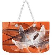 Velocity 3 Weekender Tote Bag by Angelina Vick