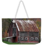 Vermont Barn Art Weekender Tote Bag by Juergen Roth