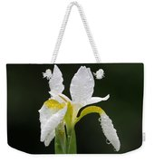 White Iris Weekender Tote Bag by Juergen Roth