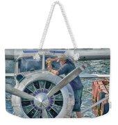 Windshield Wiper Weekender Tote Bag by Trever Miller