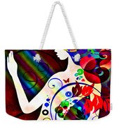 Wonder At The End Of The Rainbow Weekender Tote Bag by Angelina Vick