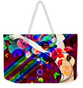 Wondrous At The End Of The Rainbow Weekender Tote Bag by Angelina Vick